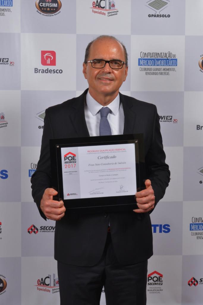 O diretor-presidente da Frias Neto, Angelo Frias Neto