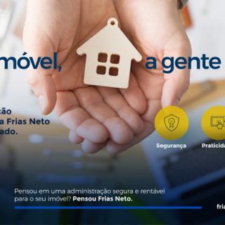 Clientes destacam administração de imóveis da Frias Neto