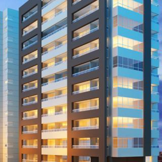 Salas comerciais e apartamentos sofisticados com o Liberty Vila dos Frades