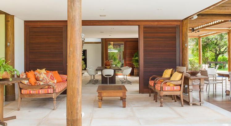 Deixe sua casa linda e moderna com m veis r sticos blog for Casa moderna rustica