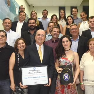Frias Neto recebe Moção de Aplausos da Câmara de Vereadores de Piracicaba